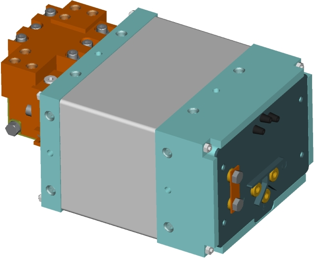 Medium Frequency Integrated DC Transformers
